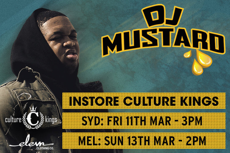 Mustard On The Beat! - CK Appearances