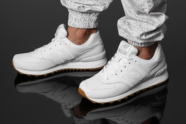 New Balance 574 Opposing Forces White/Gum