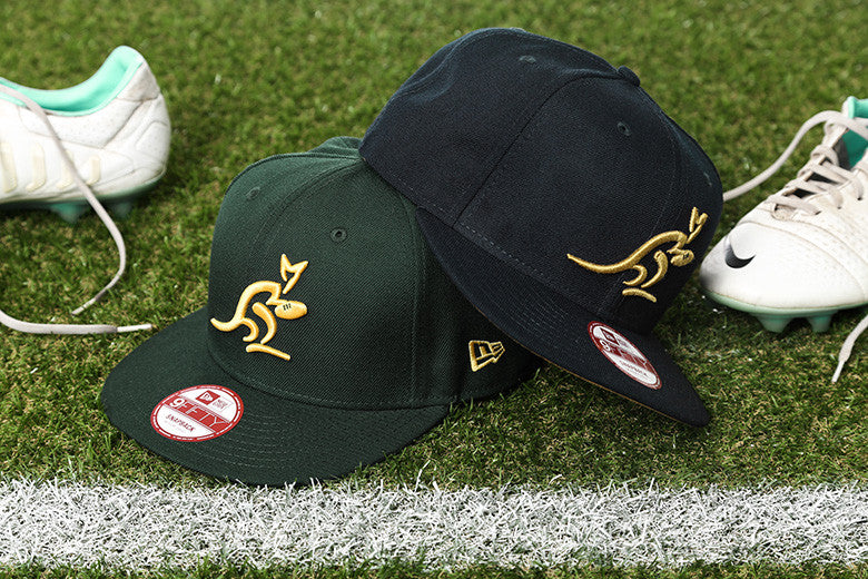 New Era 2015 Australian Wallabies Snapbacks