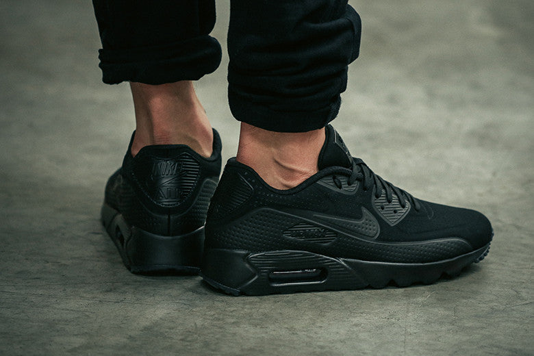 best website afebb b06cb Nike Air Max 90 Ultra Moire Triple Black