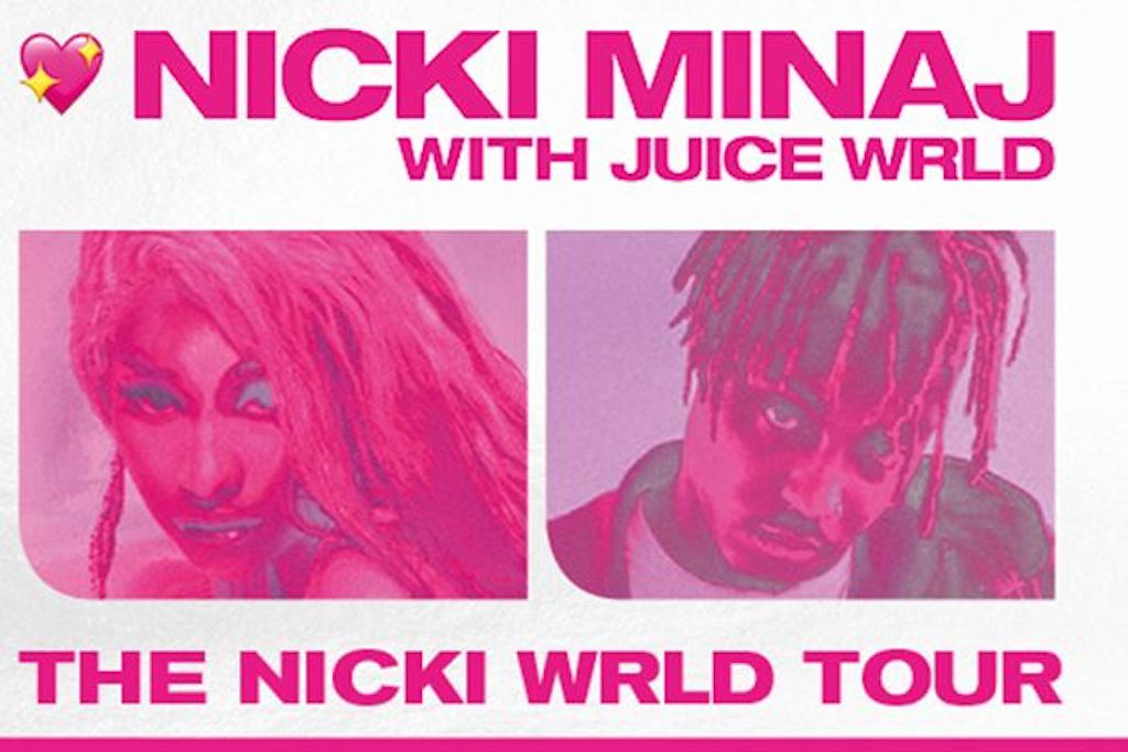 Nicki Minaj & Juice WRLD Forced To Cancel Another European Show