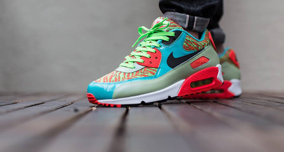 "sports shoes 69141 bb377 Nike Air Max 90 Anniversary ""Flash Lime"""