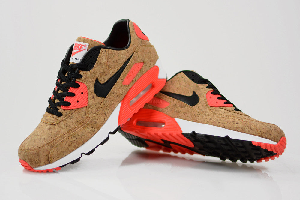 Nike Air Max 90 'Infrared' and Air Max 1 'Sport Red' VNTG