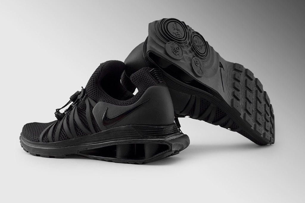 ec4c78c382e7 Back To Black - Nike Shox Gravity Is Coming – Culture Kings
