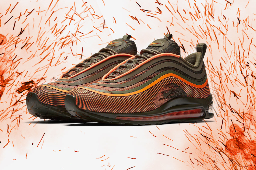 These Orange Air Max 97 Ultras Are On Fire 🔥