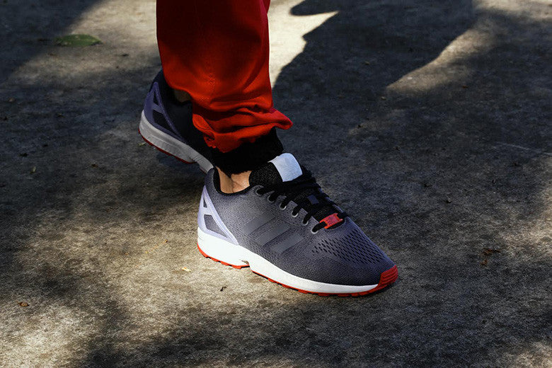 timeless design d0f0d 5108f adidas Originals ZX Flux Onix/Red/Black – Culture Kings