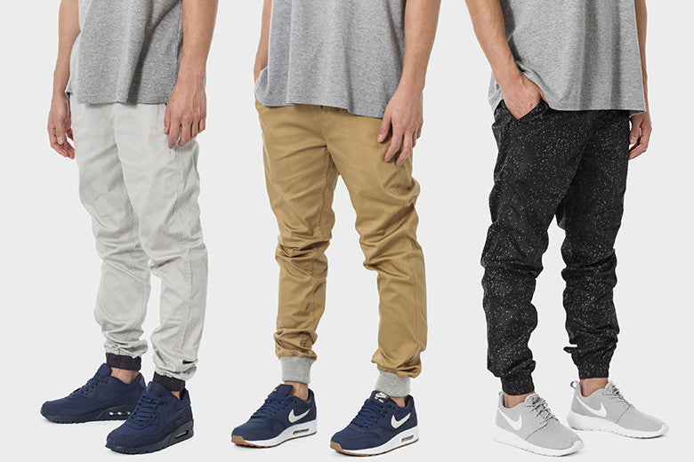 Mid Year Style: Jogger Cuts & Sneakers