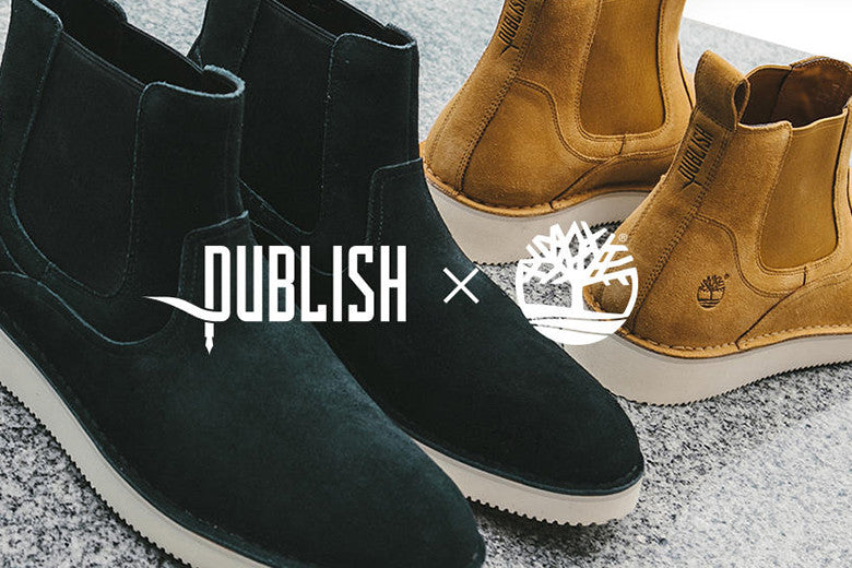 Timberland X Publish Brand Shoe Collaboration