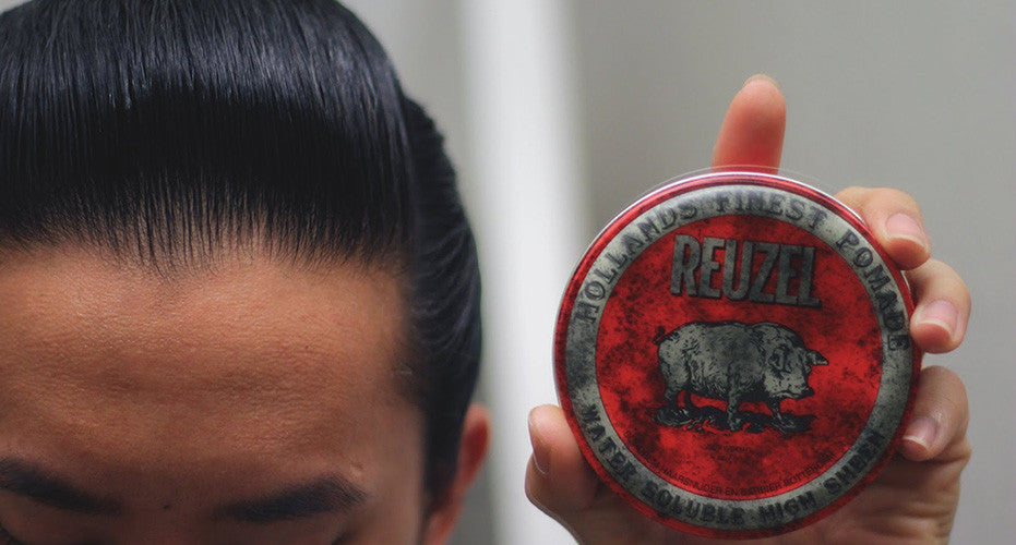 Pomade Review: Reuzel Red Pomade