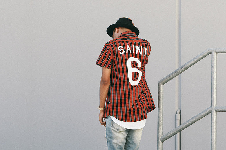Saint Morta Saint Check Button Up