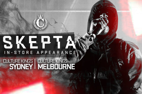 ONE WEEK TILL SKEPTA IS AT CK!