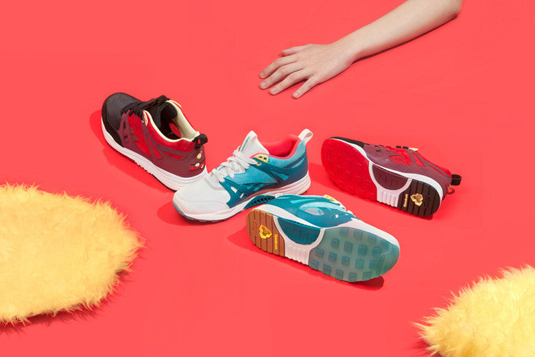 "The Hundreds x Reebok Classic Ventilator ""Zodiac"" Pack"