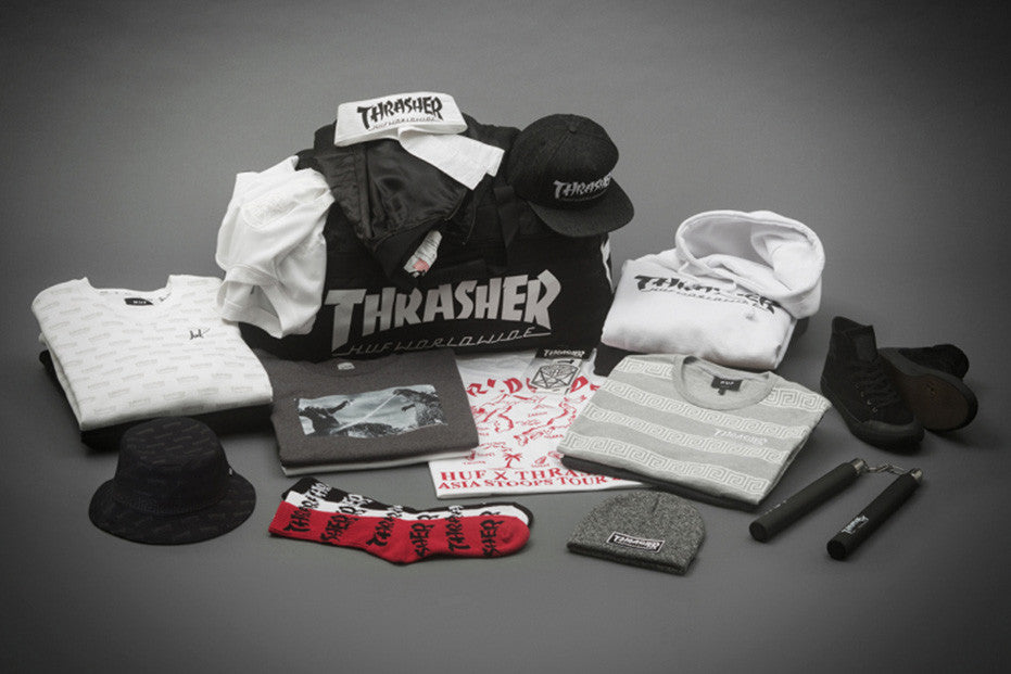 HUF X Thrasher Stoops Asia Tour Collection