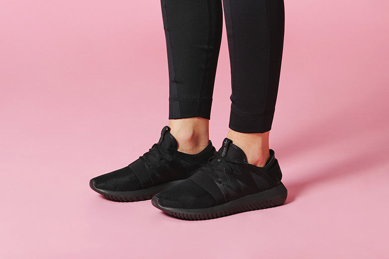 78863dec3a78 adidas Originals Women s Tubular Viral All Black – Culture Kings