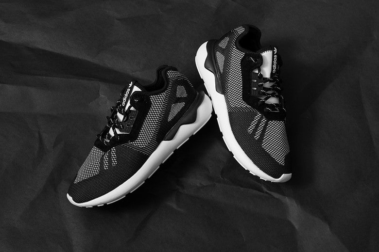 adidas Tubular Runner Weave Black/White S74813