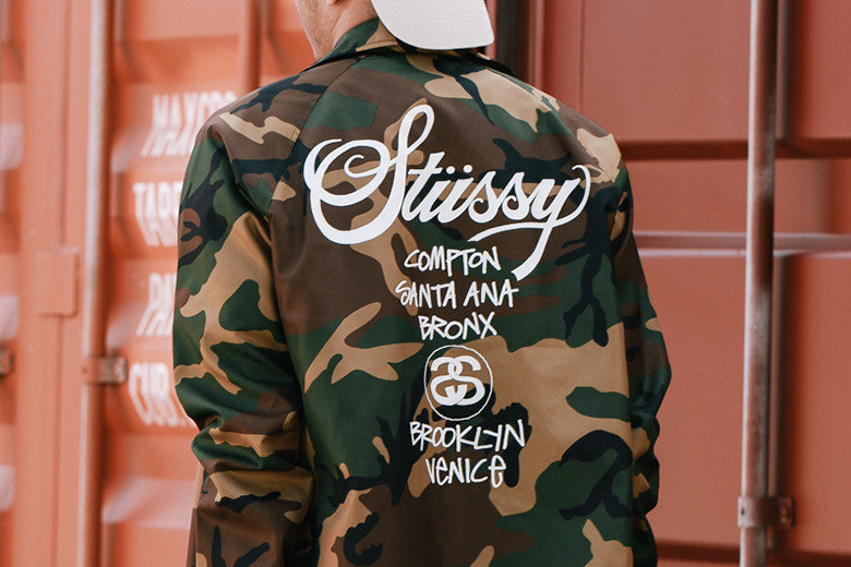 Worldwide Exclusive Stussy Windbreakers