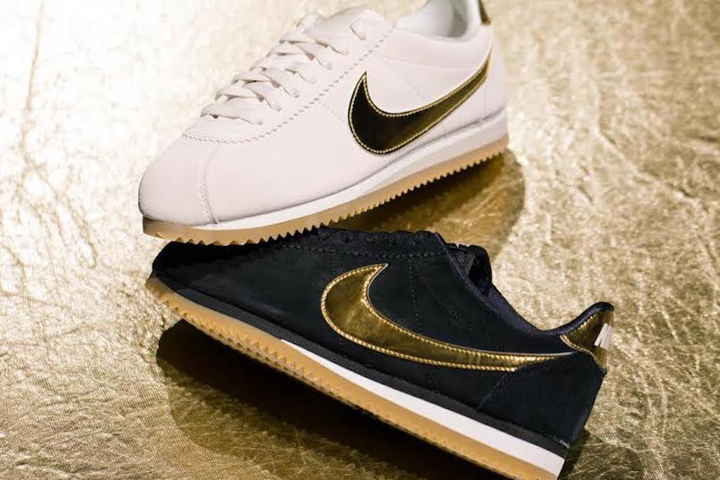 newest 808ec 0518e Golden Fever Strikes With The Latest Nike Cortez Edition