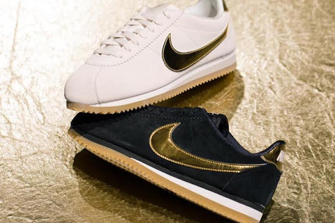 Golden Fever Strikes With The Latest Nike Cortez Edition