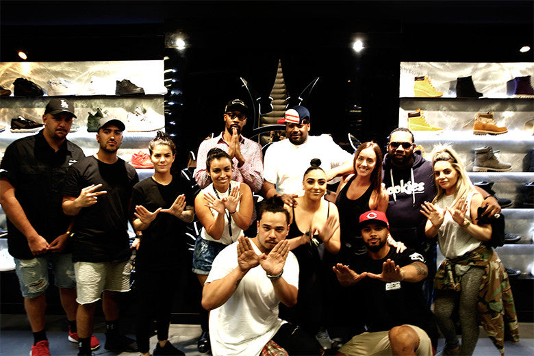 RZA Hits Culture Kings Sydney For Instore Appearance