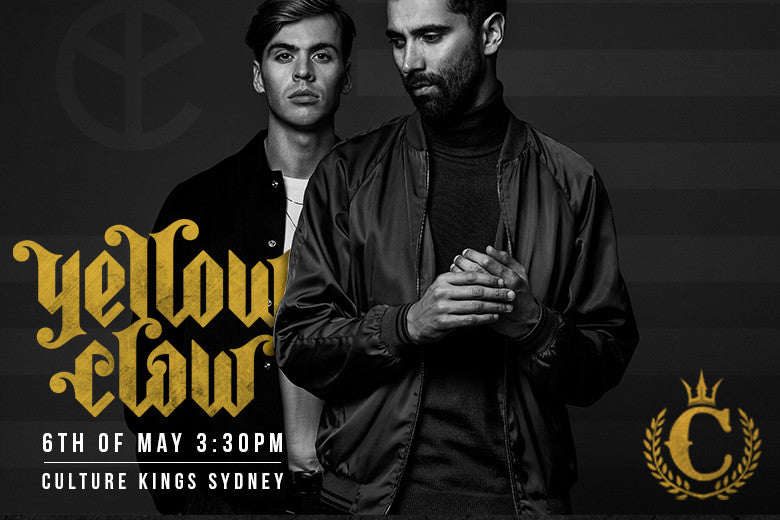 Yellow Claw In Store Today