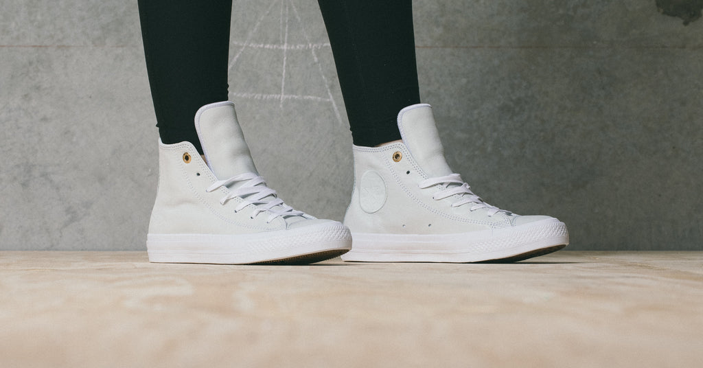 Converse Women s Chuck II In New Leather Colourways Just Dropped ... 44ab5e7d55