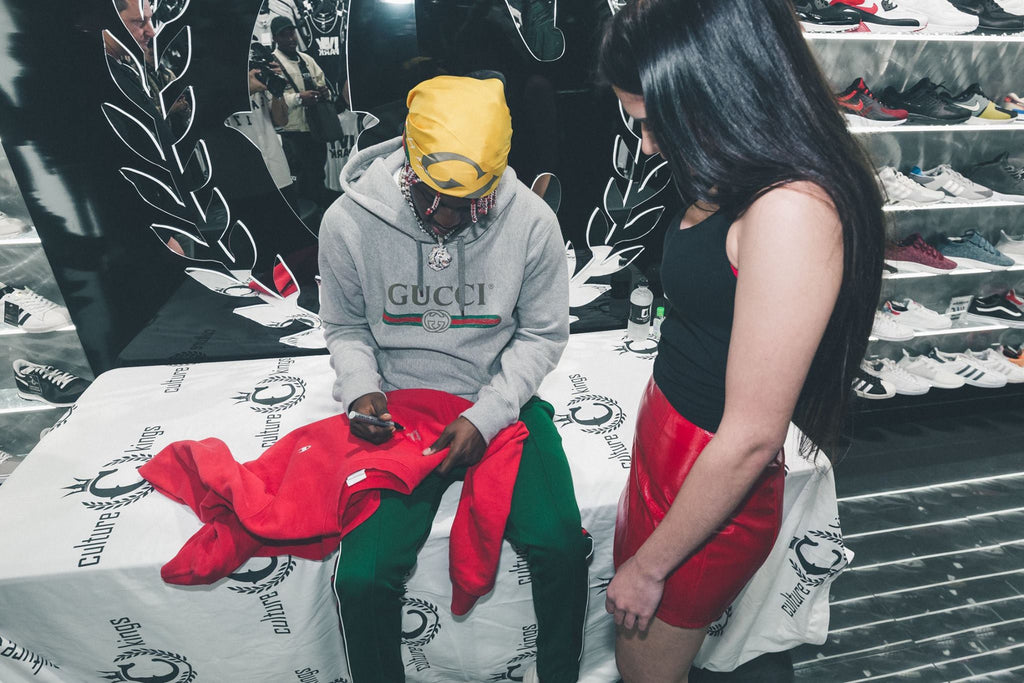 Lil yachty in store appearance at culture kings perth lil yachty perth signing m4hsunfo