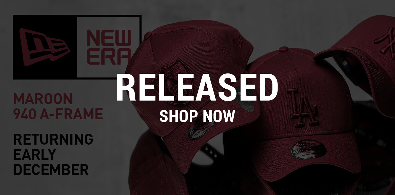 New Era 940 A-Frame Maroon
