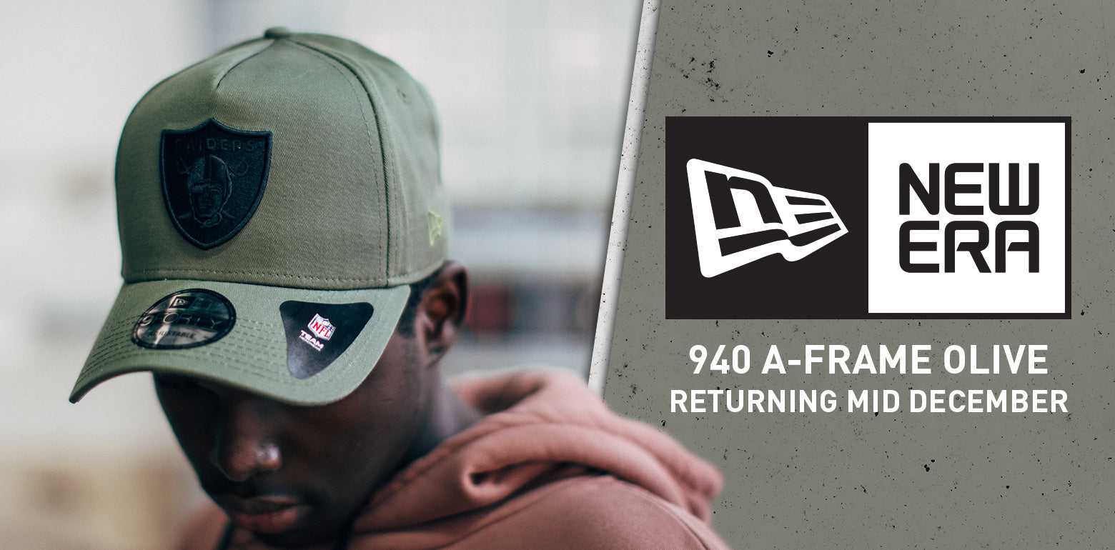 New Era 940 A-Frame Olive