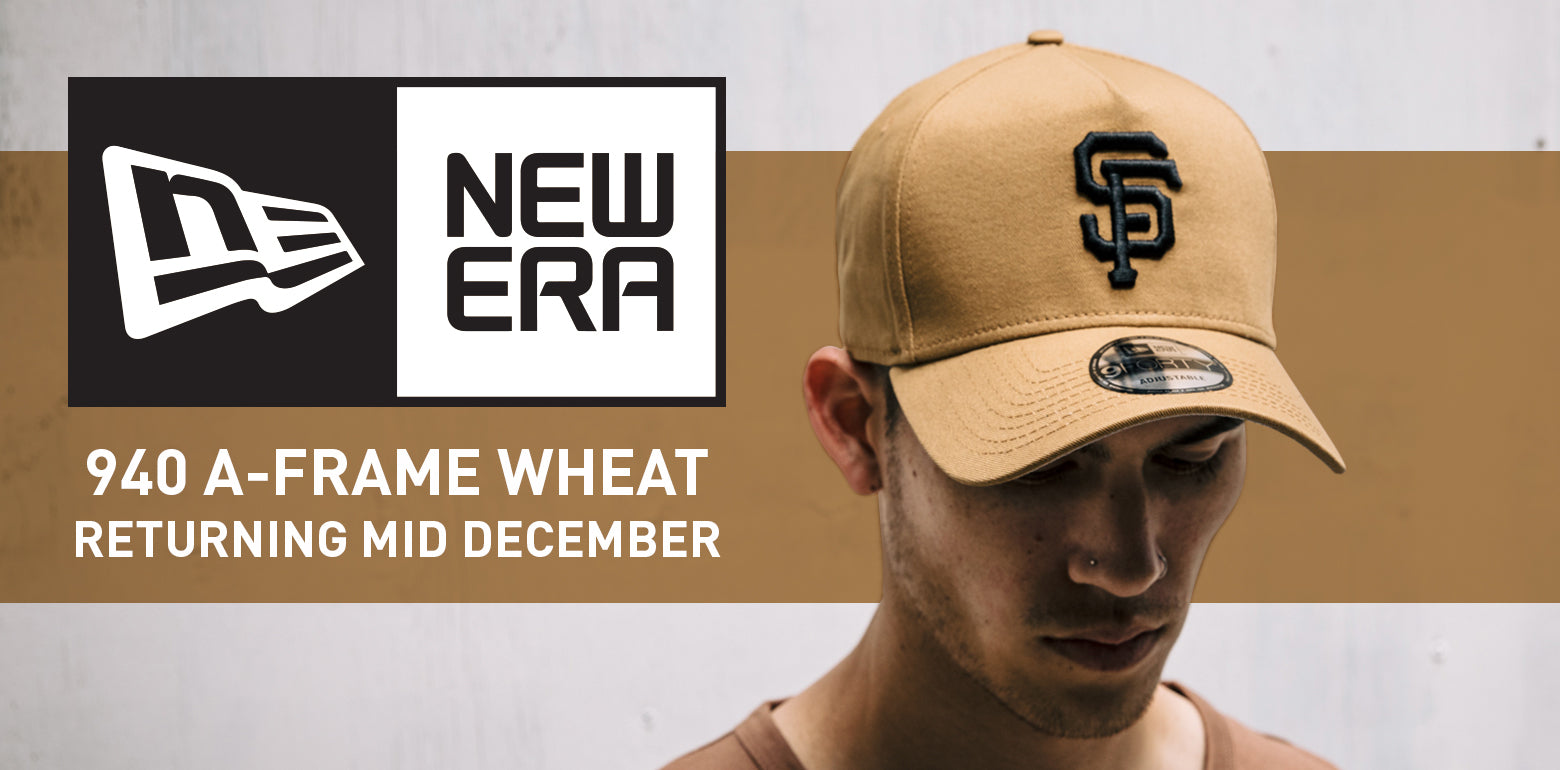 New Era 940 A-Frame Wheat