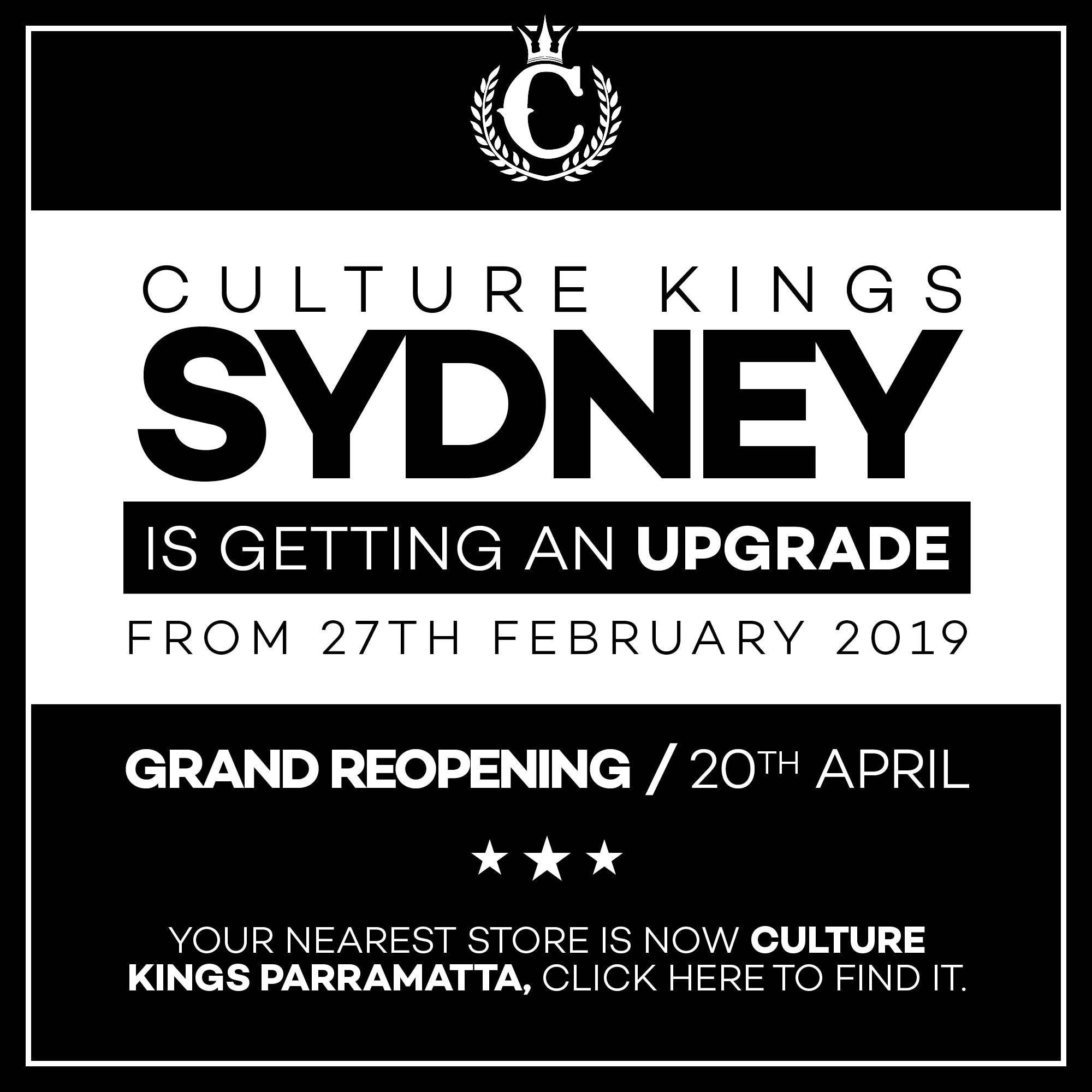 a53bc4ebba8 Sydney Store - Culture Kings
