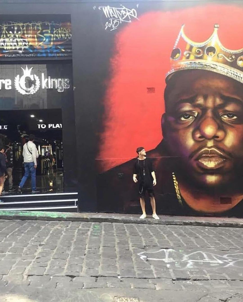 A History Of Murals & In Store Visits At Culture Kings