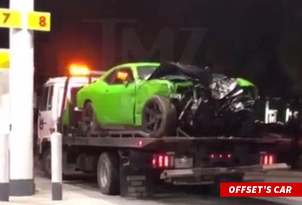 Offset Will Face No Charges From Car Accident – Culture Kings