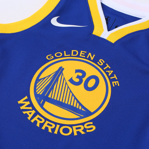 16126cee4 Toddler Stephen Curry  30 Golden State Warriors Nike Replica Jersey Ic – Culture  Kings