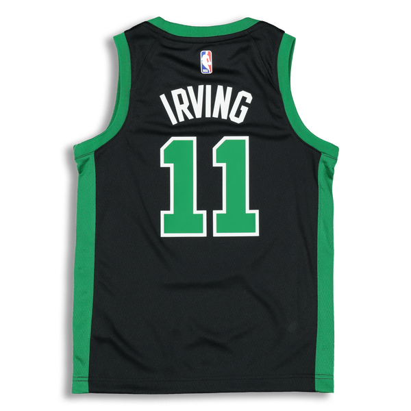 e37e788d8 Nike Kids Boston Celtics Kyrie Irving  11 Icon Swingman NBA Jersey Bla –  Culture Kings