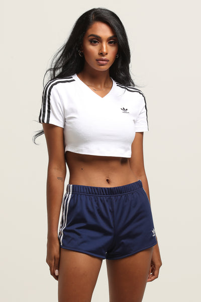 58264cce64 Adidas Women's Cropped Tee White – Culture Kings