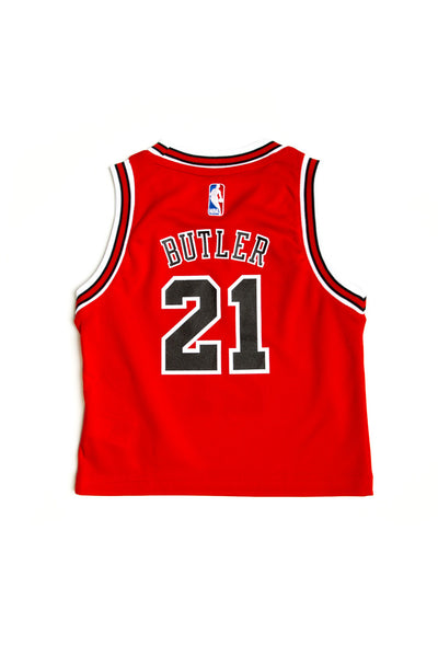 e02f0a4d6 Adidas Chicago Bulls Road Toddler Jersey Jimmy Butler  21 Red – Culture  Kings
