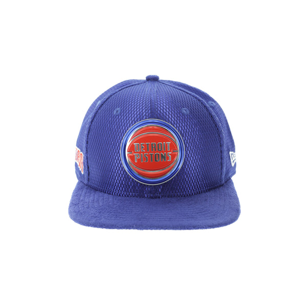 new product f408b a2731 New Era Detroit Pistons 9FIFTY Original Fit On-Court Collection Draft –  Culture Kings