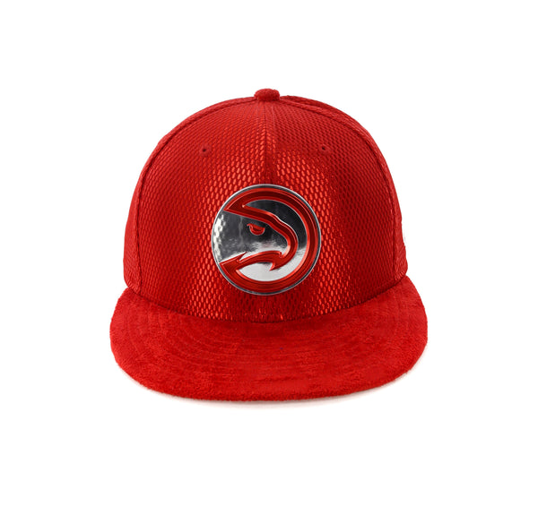 best sneakers c8783 c3b49 New Era Atlanta Hawks 59FIFTY Fitted On-Court Collection Draft Red –  Culture Kings