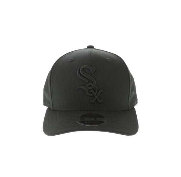 low cost eb016 9bc97 New Era Chicago White Sox 9FIFTY Original Fit Precurve Snapback Black  –  Culture Kings