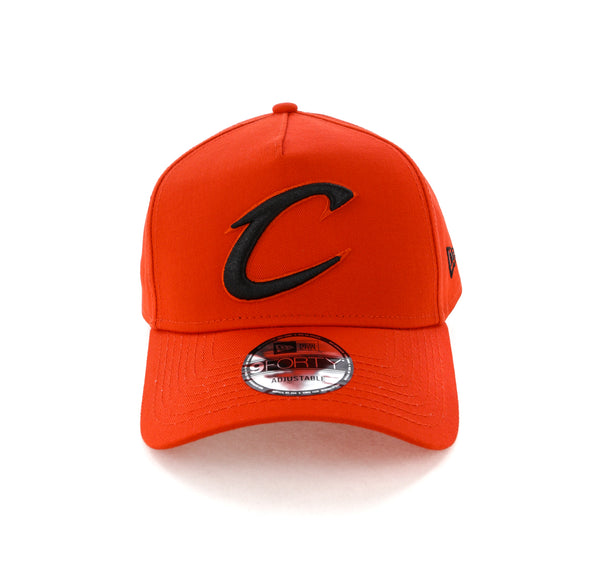 best loved 47046 bc46d New Era Cleveland Cavaliers 9FORTY A-Frame Snapback Cherry Black – Culture  Kings