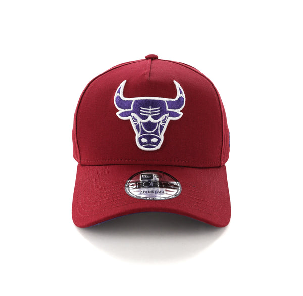 low priced 0adaf 04f56 New Era Chicago Bulls 9FORTY A-Frame Snapback Shiraz Purple – Culture Kings