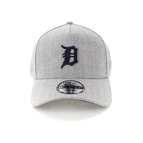 new arrival 92b62 9b328 New Era Detroit Tigers 9FORTY A-Frame Snapback Heather Grey Navy – Culture  Kings