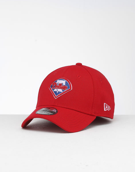 new arrival 0d333 e82be New Era Philadelphia Phillies 39THIRTY Stretch Fit Scarlet – Culture Kings