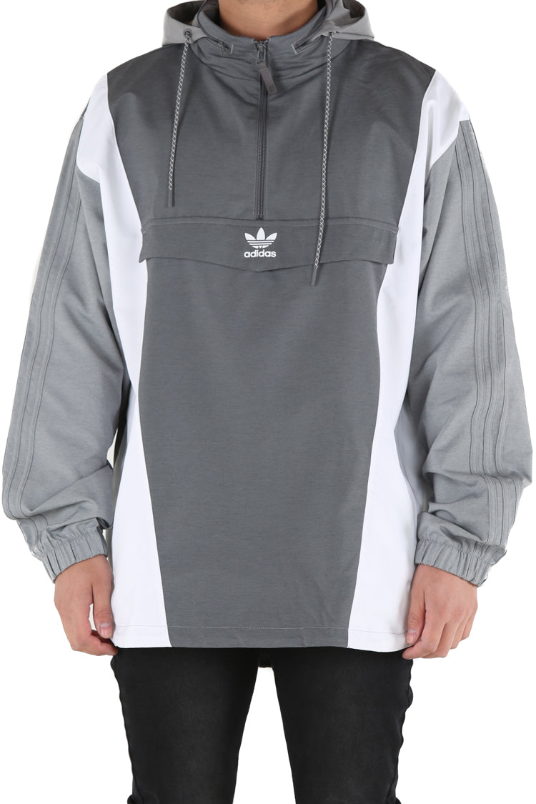 Details about Adidas Boy's Fusion Raglan Hoodie Sweater Pullover Grey Black Red