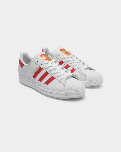 Adidas Men's Superstar MG WhiteRedGold