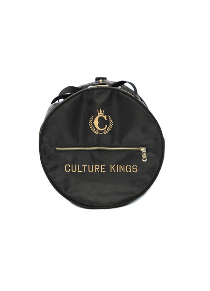 Culture Kings Not For Sale Black Gold Duffle Bag