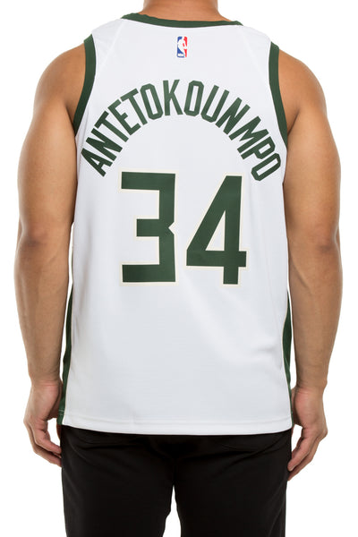 a9d851bafa5 Giannis Antetokounmpo #34 Milwaukee Bucks Nike Association Edition Swi –  Culture Kings