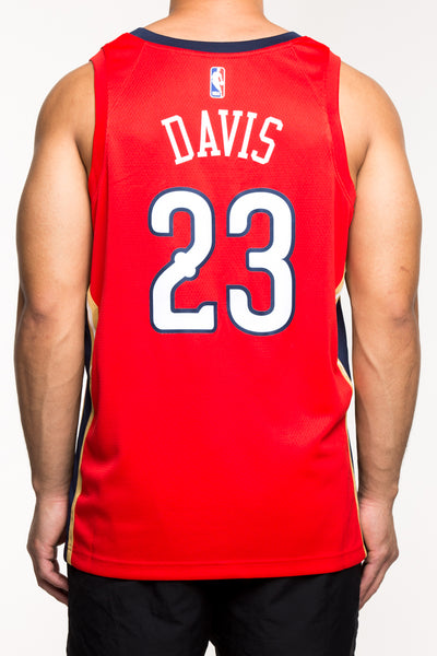 9dabf644e32 Nike New Orleans Pelicans  23 Anthony Davis Statement Edition Swingman –  Culture Kings