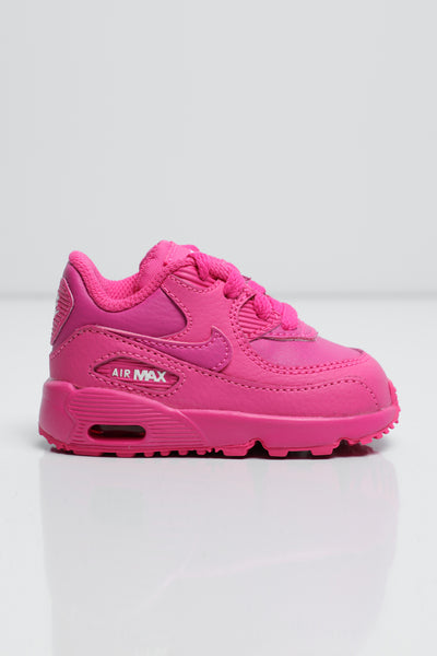 best sneakers 54a52 c27c3 Nike Air Max 90 Leather Toddler Shoe Fuschia – Culture Kings