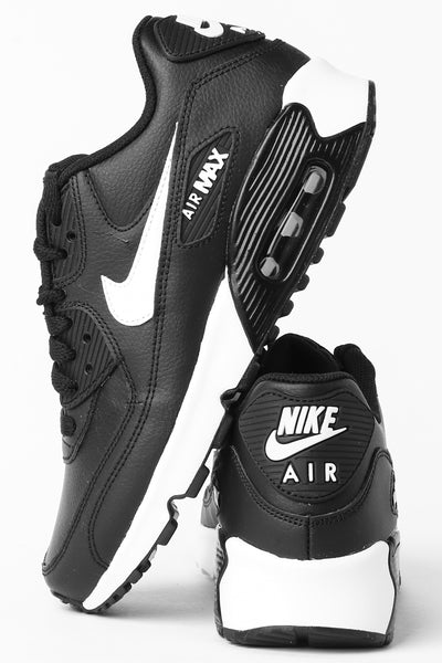 831581bc15 Nike Air Max 90 Leather (GS) Black/White/Anthracite – Culture Kings